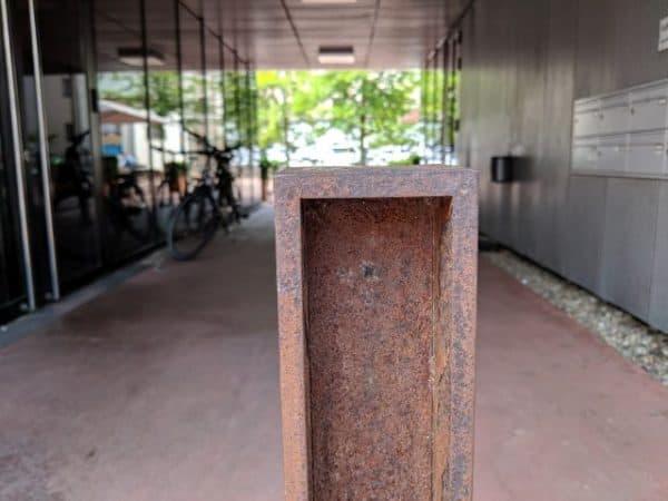 geocaching landeshauptstadt linz oberoesterreich landesgalerie skulpturen installationen firmenausflug