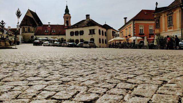 burgenland rust stadtplatz kaffeehaus café kirche parken geocaching fahrradtour teambuilding mgs