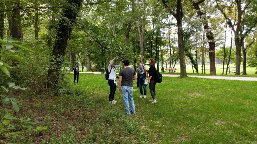 Geocaching Teamevent Betriebsausflug Ideen Prater