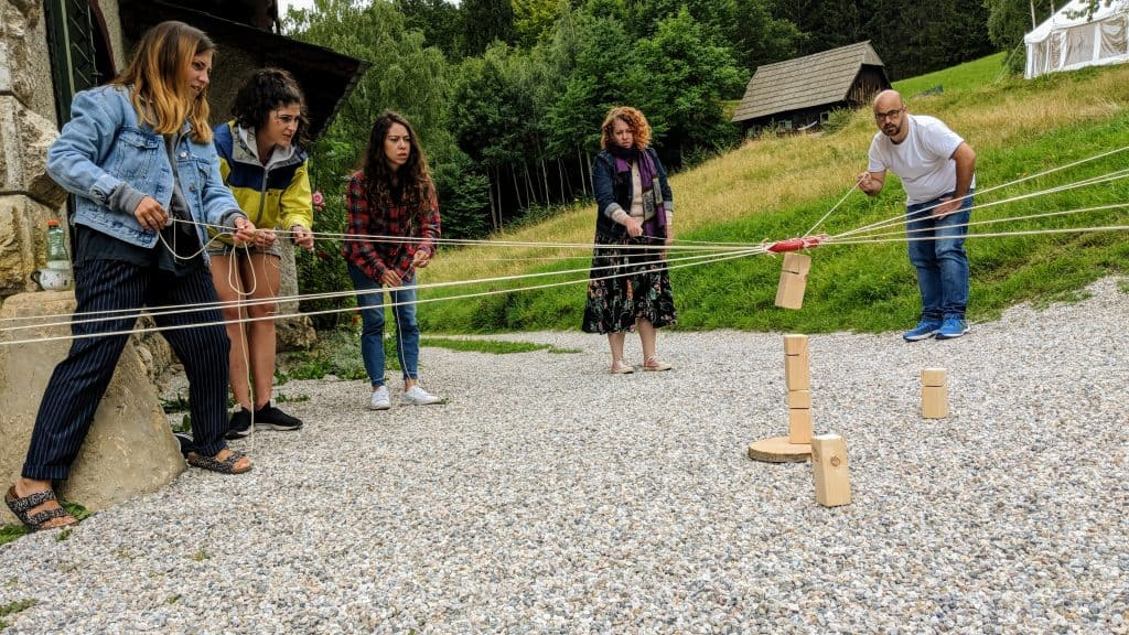 Outdoor Training und Teambuilding