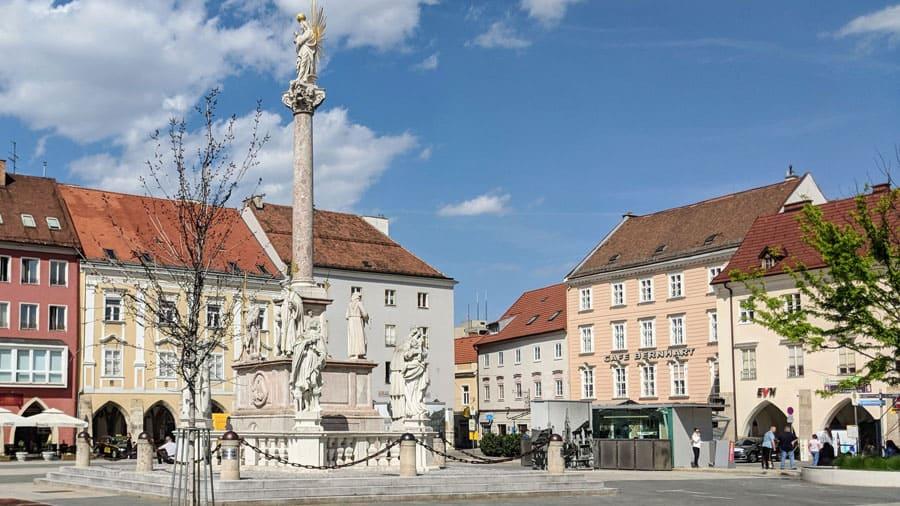 Wr Neustadt Schnitzeljagd Geocaching Raetsel Teamevent Hauptplatz