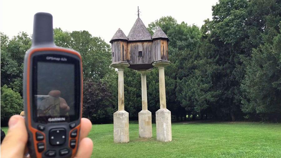 laxenburg schlosspark taubenkobel geocaching teamevent firmenausflug