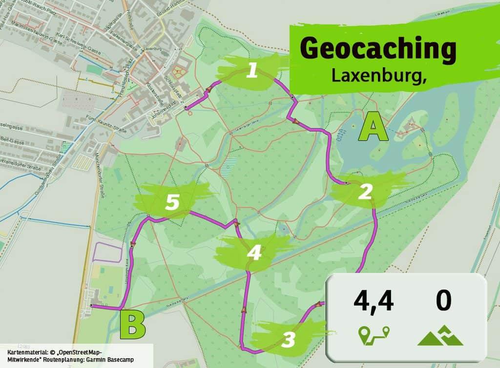 laxenburg teamevent teambuilding geocaching betriebsausflug karte uebersicht