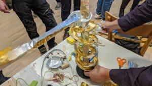 marble run kugelbahn selbst bauen looping material teambuilding