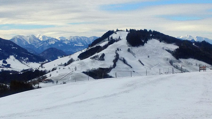 aussicht hierschberg konradsheim mostviertel alpen geocaching idee fuer betriebsausflug erholung incentive bs
