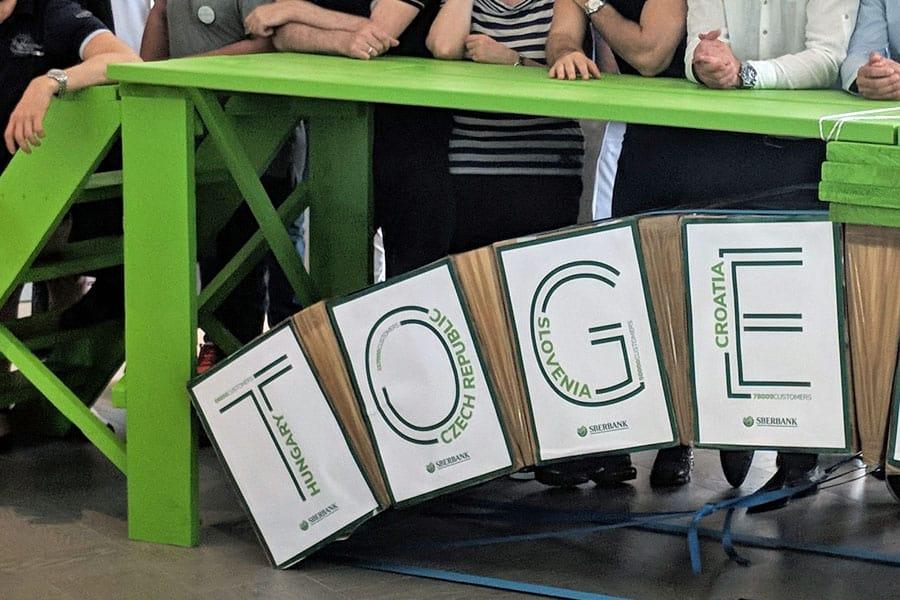 bridge to the future bruecke teamevent teambuilding grossgruppe firmenevent