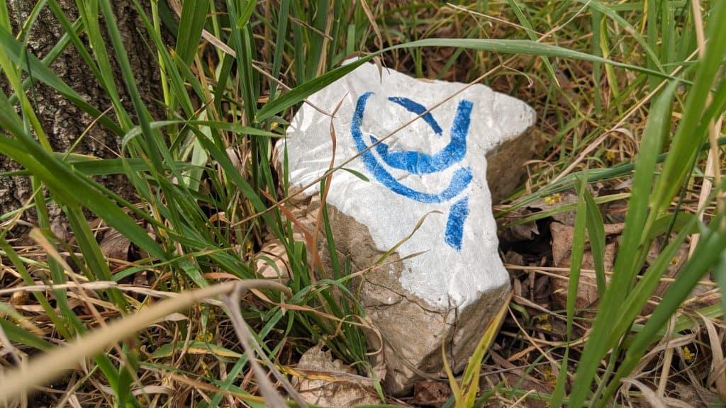 Markierung Uniqua Trail