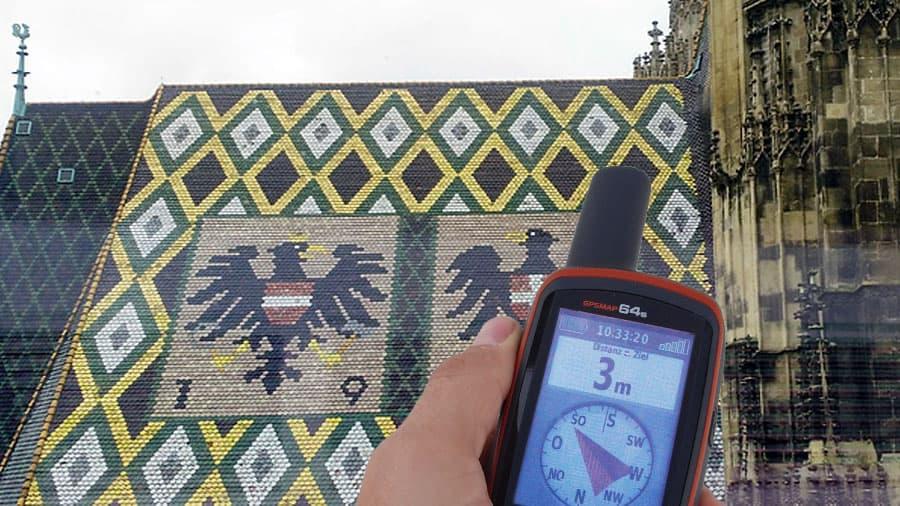 Stephansplatz mit GPS