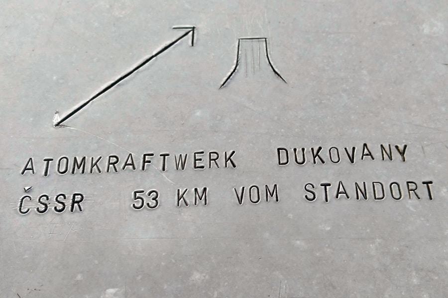 aussichtswarte oberleis aussicht panorama dukovany atomkraftwerk geocaching tour gps schnitzeljagd wandern mgs Kopie