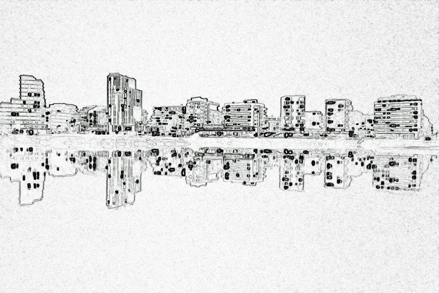 seestadt relief spiegelung skizze janis joplin promenade bs